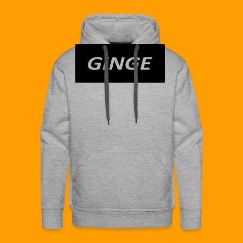 GINGE LOGO - Men's Premium Hoodie
