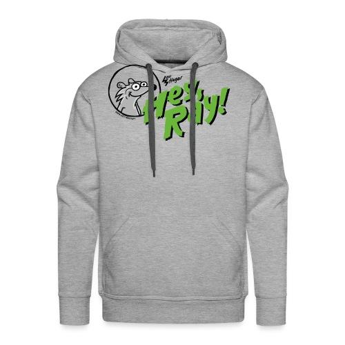 Hey Ray Logo green - Männer Premium Hoodie
