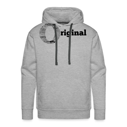 original grey - Men's Premium Hoodie