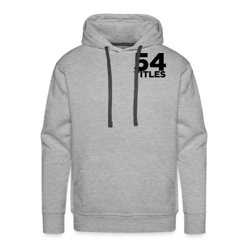 54 Titles - Men's Premium Hoodie