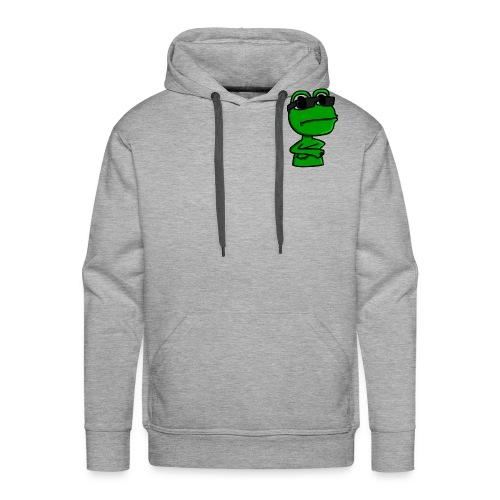 Qack-Logo - Herre Premium hættetrøje