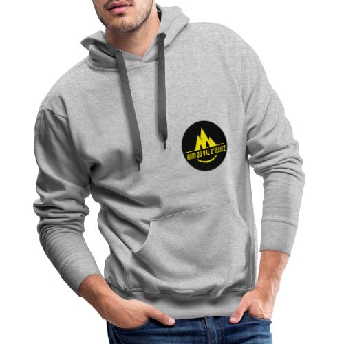 Raid du Val D'Illiez - Sweat-shirt à capuche Premium pour hommes