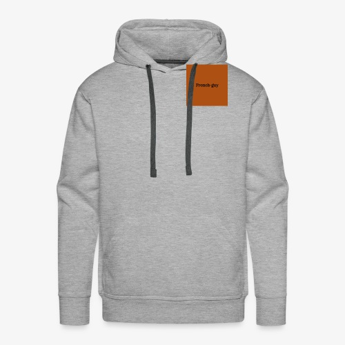 French guy - Sweat-shirt à capuche Premium pour hommes