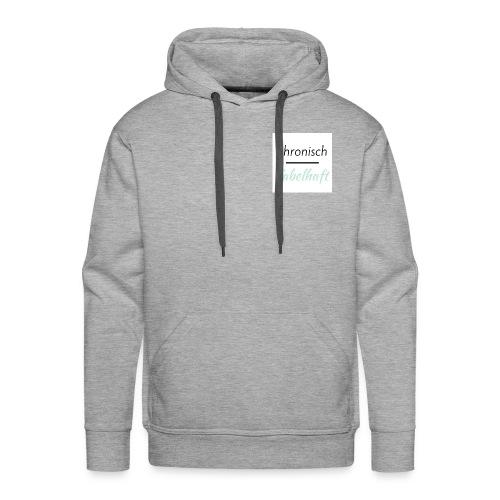 chronisch fabelhaft Logo mint - Männer Premium Hoodie