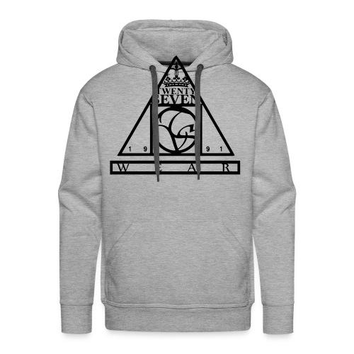 Twenty Seven Wear Logo - Männer Premium Hoodie
