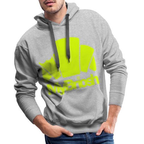 LogoMyB - Felpa con cappuccio premium da uomo