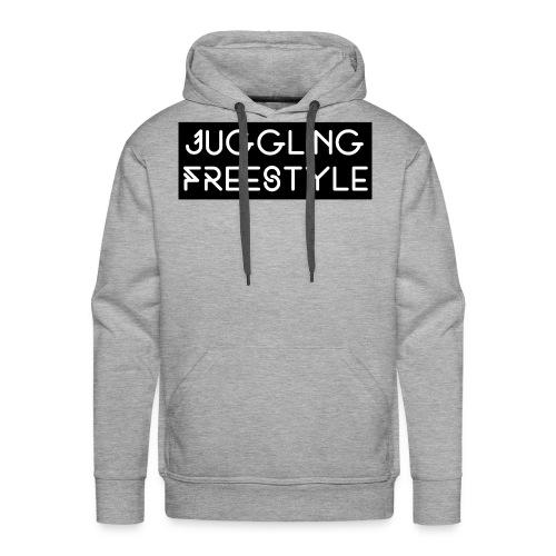 Hoodie Black Juggling Freestyle (Woman) - Männer Premium Hoodie