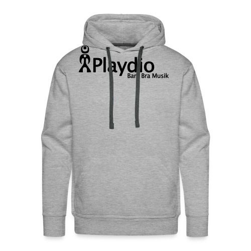 playdio svart - Premiumluvtröja herr