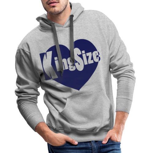 kingsizeheart - Mannen Premium hoodie