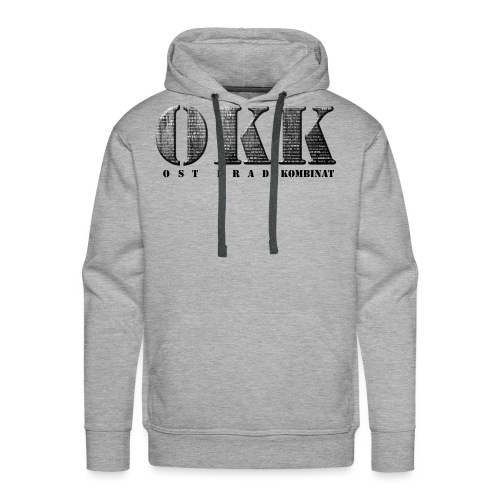 Ost Krad Kombinat Typografie - Männer Premium Hoodie