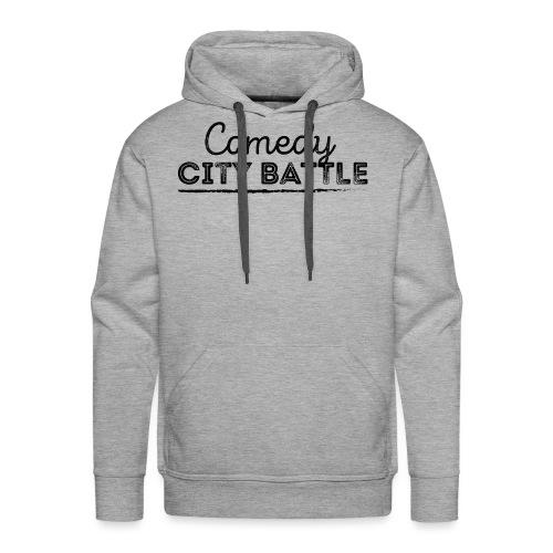 Comedy City Battle Logo Black - Männer Premium Hoodie
