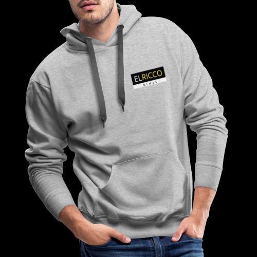 ELRicco - Sweat-shirt à capuche Premium pour hommes