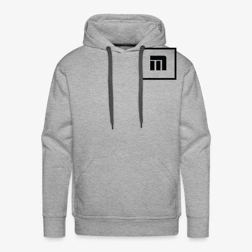 Malecka logo petit - Sweat-shirt à capuche Premium pour hommes