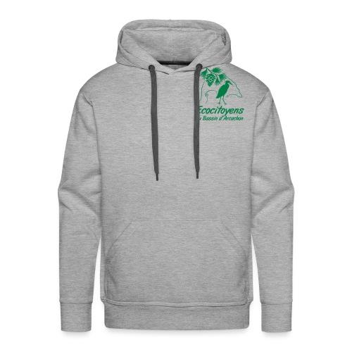 LOGO EBA POITRINE - Sweat-shirt à capuche Premium pour hommes