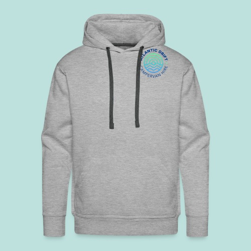 Atlantic Drift Logo (Blue) - Men's Premium Hoodie