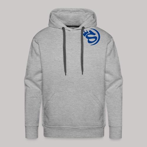S blau - Männer Premium Hoodie