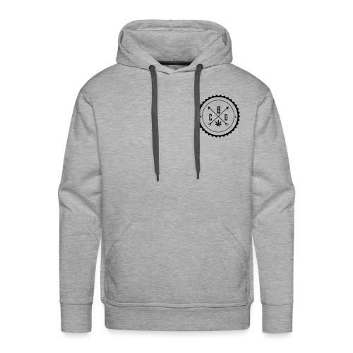 dessin logo cbd2vect - Sweat-shirt à capuche Premium pour hommes