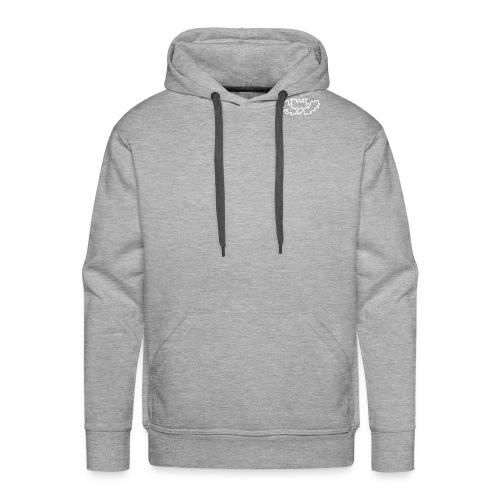 logostregsti - Herre Premium hættetrøje
