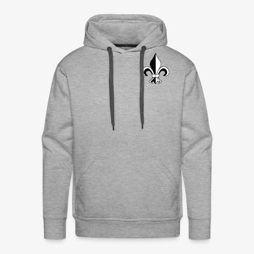 FLEUR DE LYS - Sweat-shirt à capuche Premium pour hommes