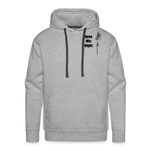 Open Mic Night - Men's Premium Hoodie