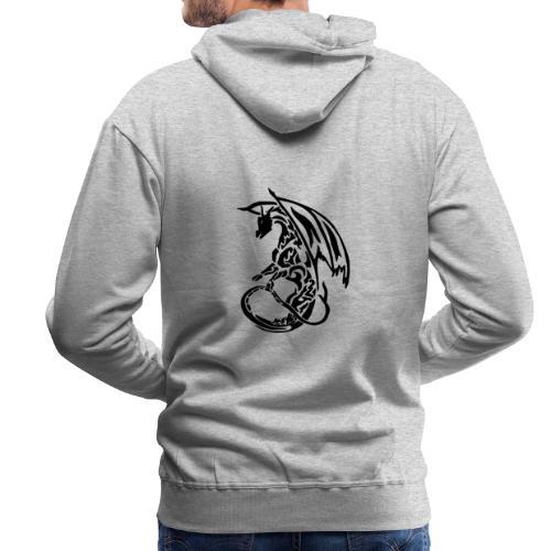 Hoodie Eaven Tribal - Dragon Clair Homme - Sweat-shirt à capuche Premium pour hommes