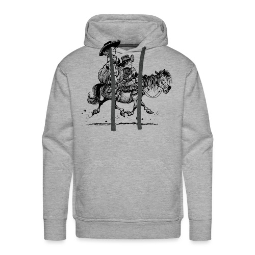 Thelwell Two Cowboys Reiten - Männer Premium Hoodie
