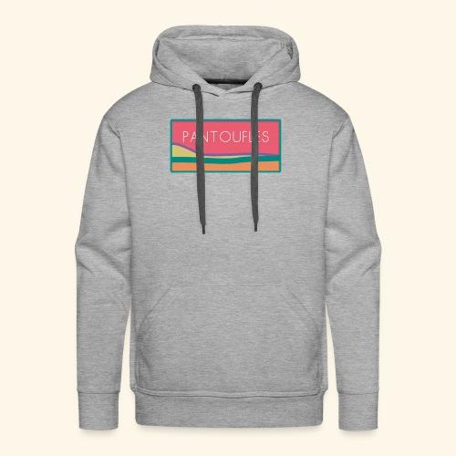 pantoufles 2 - Sweat-shirt à capuche Premium pour hommes