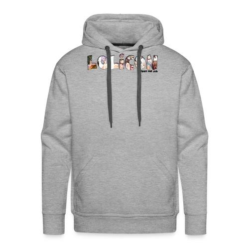 lolicon ready for jail - Sweat-shirt à capuche Premium pour hommes