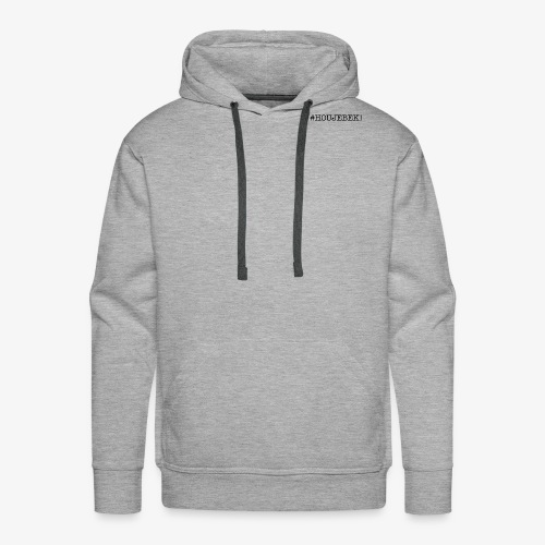#HOUJEBEK aCtive BLACK - Mannen Premium hoodie