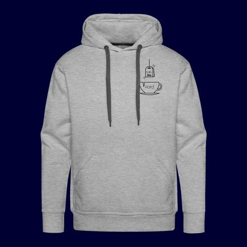 Par tea hard - Sweat-shirt à capuche Premium pour hommes