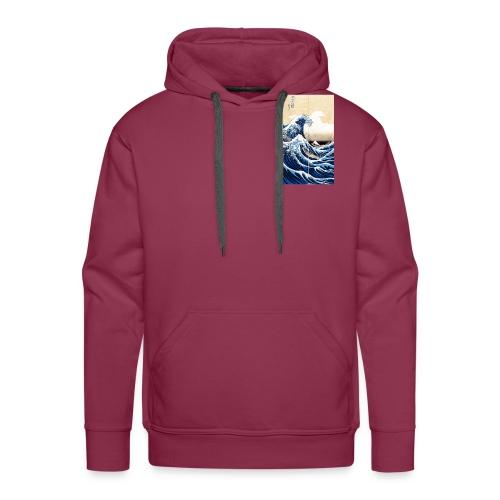 La grande vague de Kanagawa - Sweat-shirt à capuche Premium pour hommes