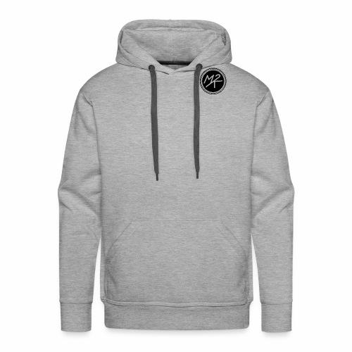 Logo MY2K noir - Sweat-shirt à capuche Premium pour hommes