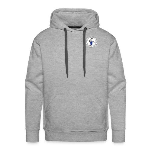 logo circulaire - Sweat-shirt à capuche Premium pour hommes