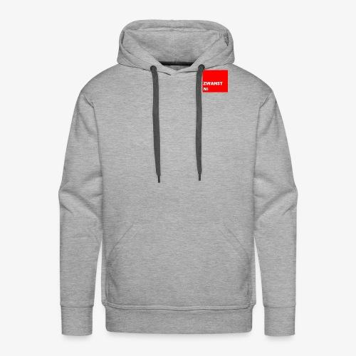 zwanst ni - Mannen Premium hoodie