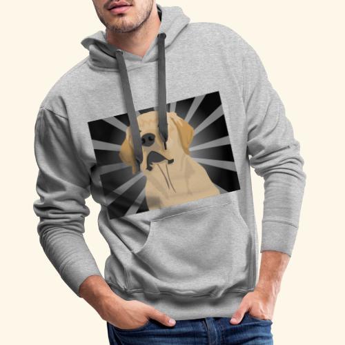 Superdog - Sudadera con capucha premium para hombre