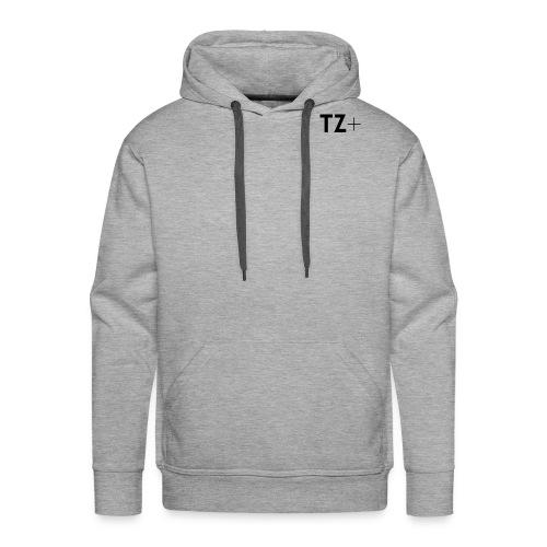 TZ black logo tee - Men's Premium Hoodie