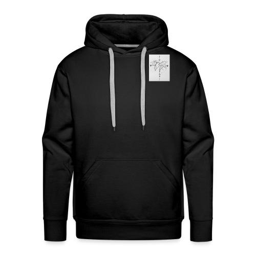 Wanderlust - Mannen Premium hoodie