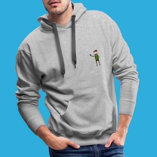 adventurer with beard - Mannen Premium hoodie