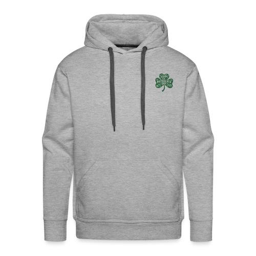 HAPPY ST PAT TREFLE - Sweat-shirt à capuche Premium pour hommes