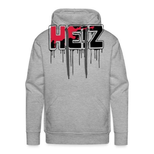 HE Z Logo Schwarz - Männer Premium Hoodie