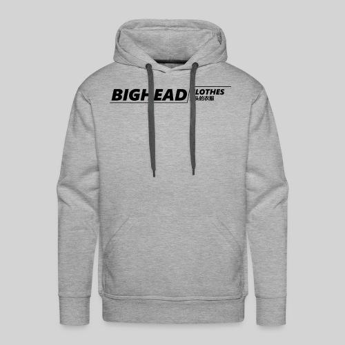 BigHead Clothes Street - Sweat-shirt à capuche Premium pour hommes