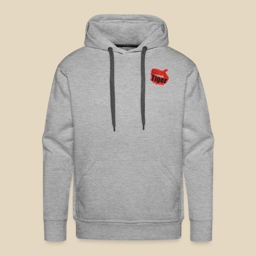 Red Tiger - Sweat-shirt à capuche Premium pour hommes
