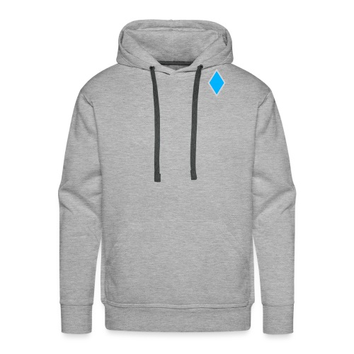 Diamond blue - Men's Premium Hoodie