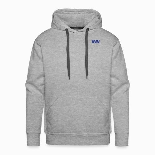Zeeuwse golf - cadeau voor Zeeuwen en Zeeland fans - Mannen Premium hoodie