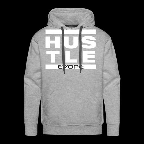 Hustle (weiss) - Männer Premium Hoodie