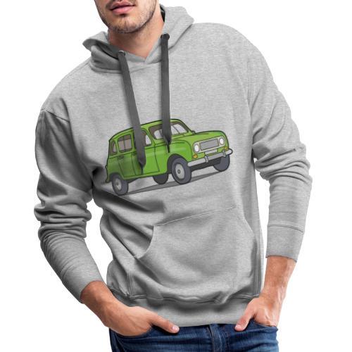 Grüner R4 (Auto) - Männer Premium Hoodie