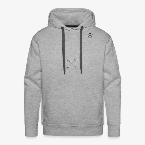triagle - Sweat-shirt à capuche Premium pour hommes