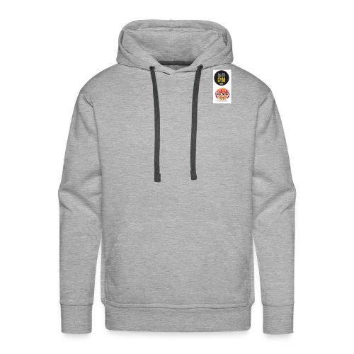 be fit und Citysport Logo - Sudadera con capucha premium para hombre