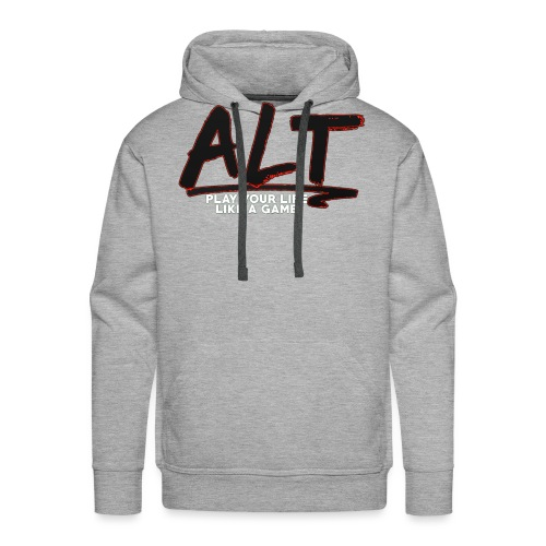 ALT Collection Special RED PLAY YOUR LIFE - Sweat-shirt à capuche Premium pour hommes