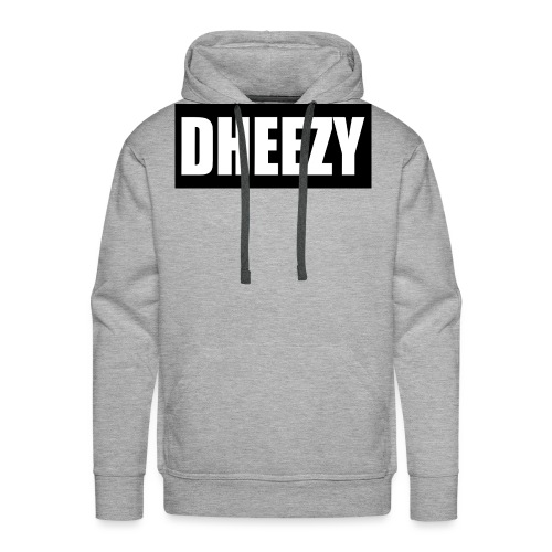 DHEEZY_logo_1 - Men's Premium Hoodie